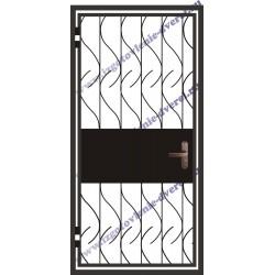 Заказать решетчатую дверь РД-08