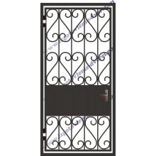 Решетка металлическая дверь