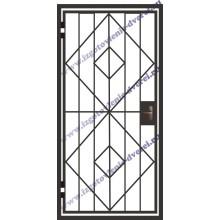 Решетчатая железная дверь РД-13