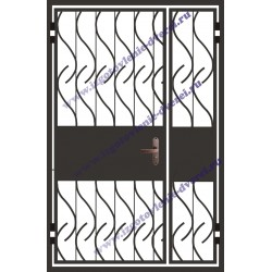 Тамбурные решетчатые двери на площадку РД-15