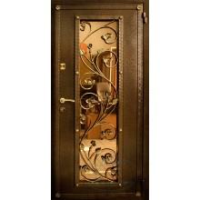 Двери металл со стеклом
