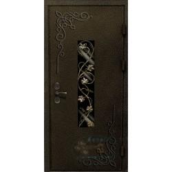 Двери со стеклопакетом для загородного дома