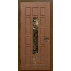 Входные двери в дом со стеклом