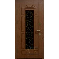 Стальные двери со стеклом