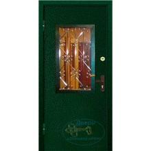 Двери уличные для частного дома со стеклом
