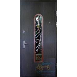 Входные уличные двери со стеклом