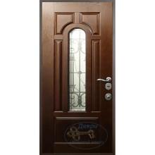 Стальные двери со стеклопакетом