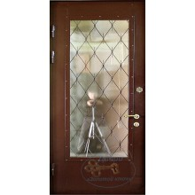Двери с большим стеклом