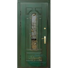 Двери со стеклопакетом загородного дома