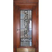 Двери коттедж со стеклом