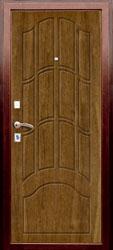 Образец фрезеровки панели МДФ №130