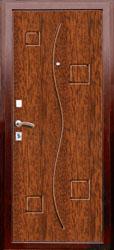 Образец фрезеровки панели МДФ №131