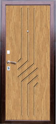 Образец фрезеровки панели МДФ №1382