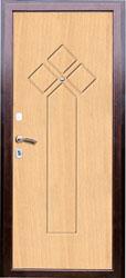 Образец фрезеровки панели МДФ №1432
