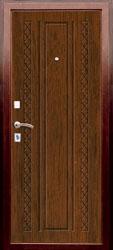 Образец фрезеровки панели МДФ №1491