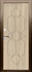 Образец фрезеровки панели МДФ №1501
