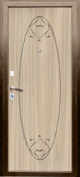 Образец фрезеровки панели МДФ №1671
