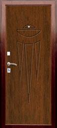 Образец фрезеровки панели МДФ №1851