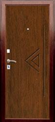 Образец фрезеровки панели МДФ №1951