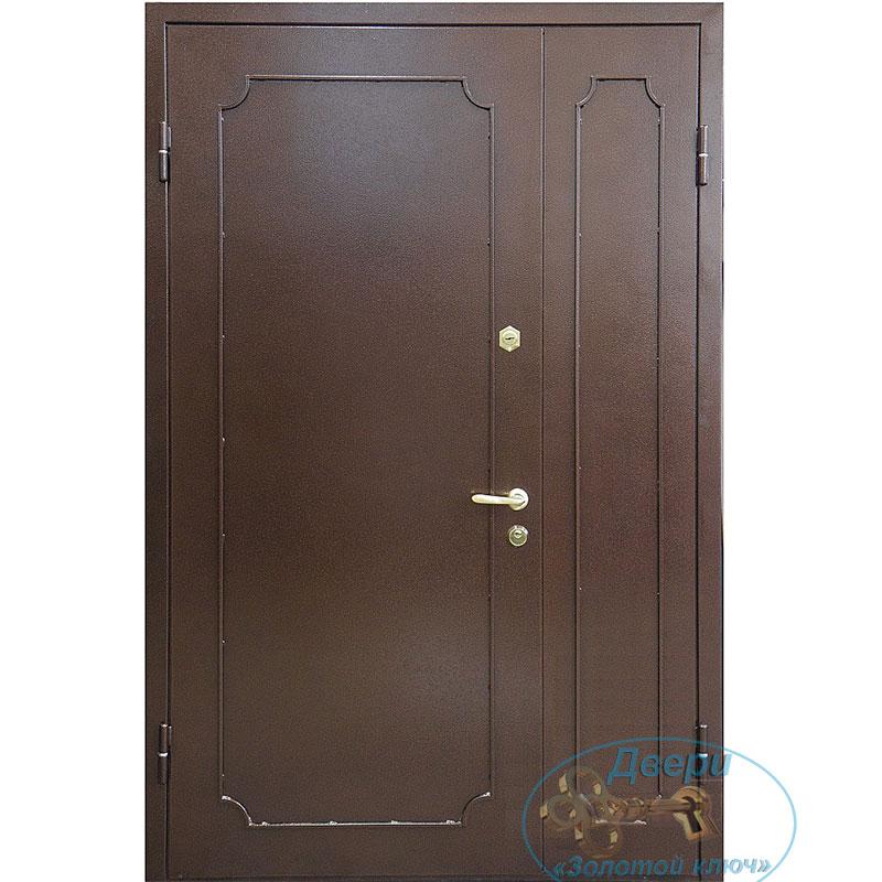 Как устранить царапину на металлических входных дверях