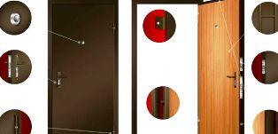 Отличия между деревянной и металлической дверью, плюсы и минусы