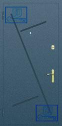 Рисунок на металлической дверной панели-№5