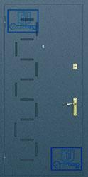 Рисунок на металлической дверной панели-№6