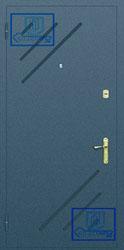 Рисунок на металлической дверной панели-№8