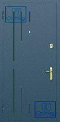 Рисунок на металлической дверной панели-№10