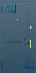 Рисунок на металлической дверной панели-№11
