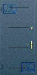 Рисунок на металлической дверной панели-№12