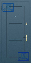 Рисунок на металлической дверной панели-№13