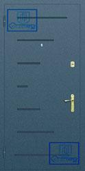 Рисунок на металлической дверной панели-№14