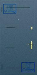 Рисунок на металлической дверной панели-№15