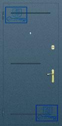 Рисунок на металлической дверной панели-№16