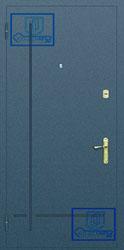 Рисунок на металлической дверной панели-№17