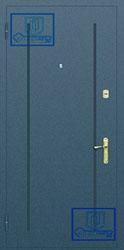 Рисунок на металлической дверной панели-№18