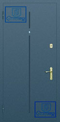 Рисунок на металлической дверной панели-№19