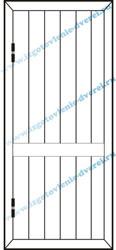 Рисунок тонной обшивочной вертикальные линии с пересечением